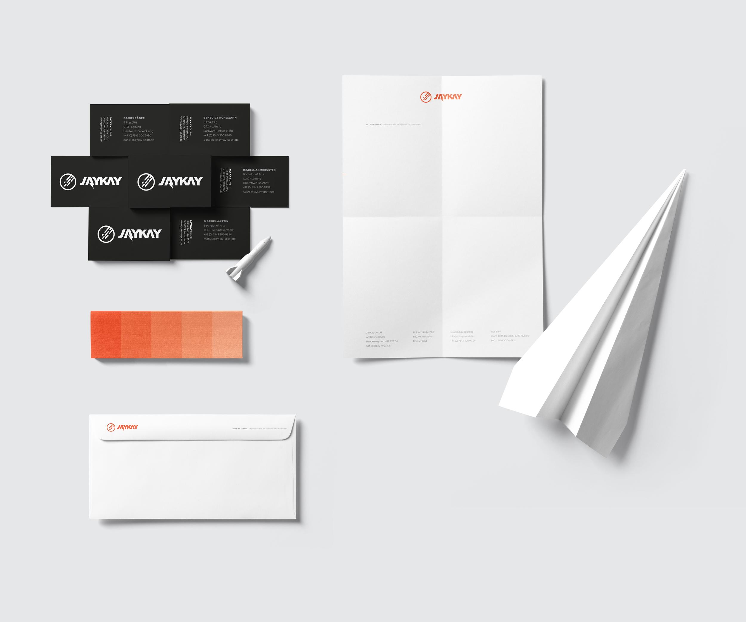 Grafikdesign Geschäftsausstattung