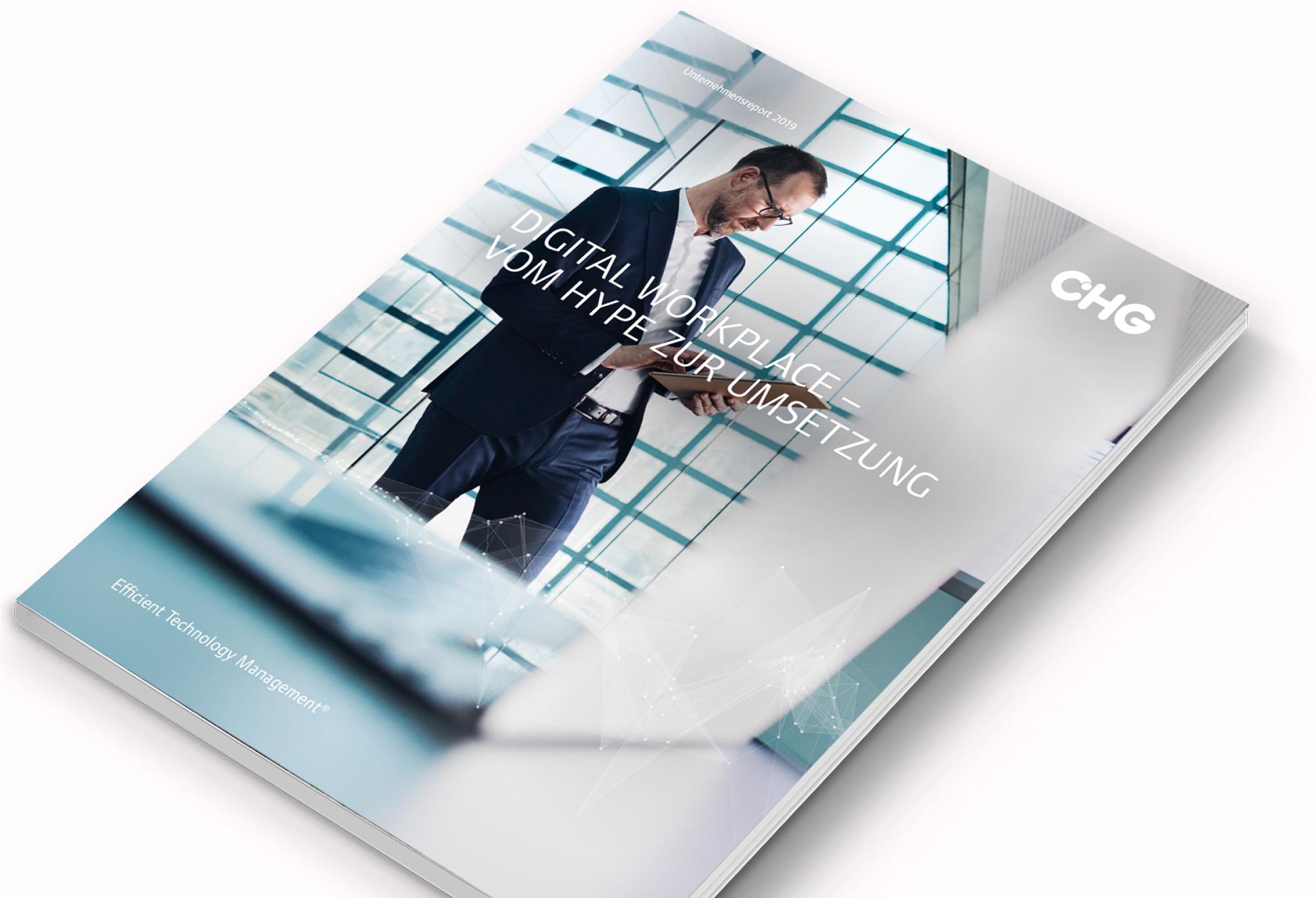 Jahresbericht CHG-MERIDIAN Editorial Design