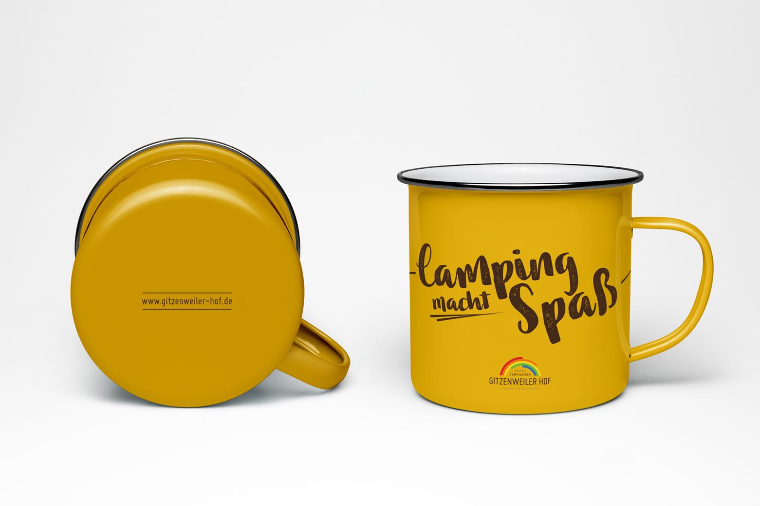 HINTERLAND Gitzenweiler Hof Camping Tasse