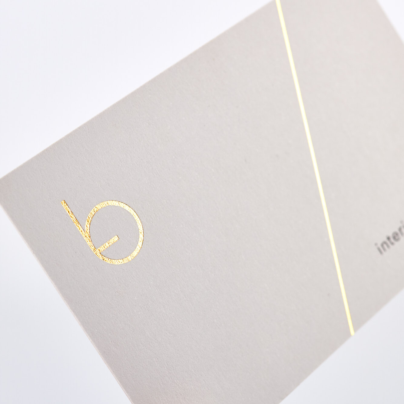 Design edel Visitenkarten