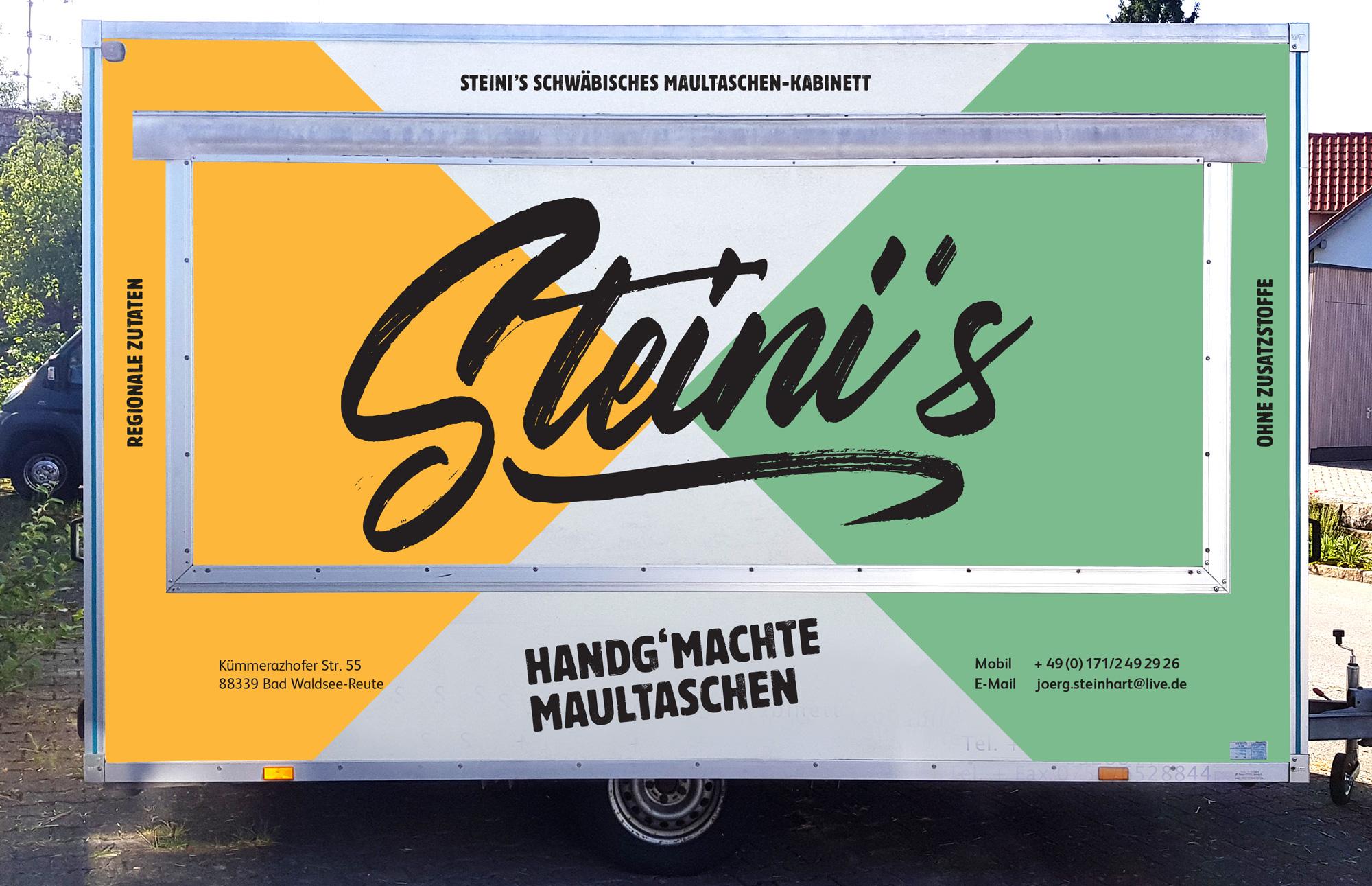 HINTERLAND Steini Maultaschen Imbisswagen
