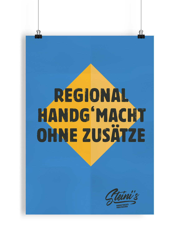 HINTERLAND Steini Maultaschen Plakat 2