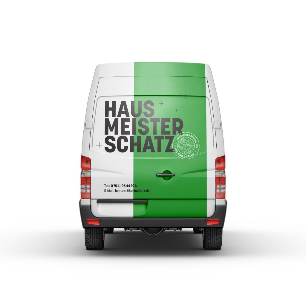 Hinterland corporate design hausmeister schatz carbranding 2