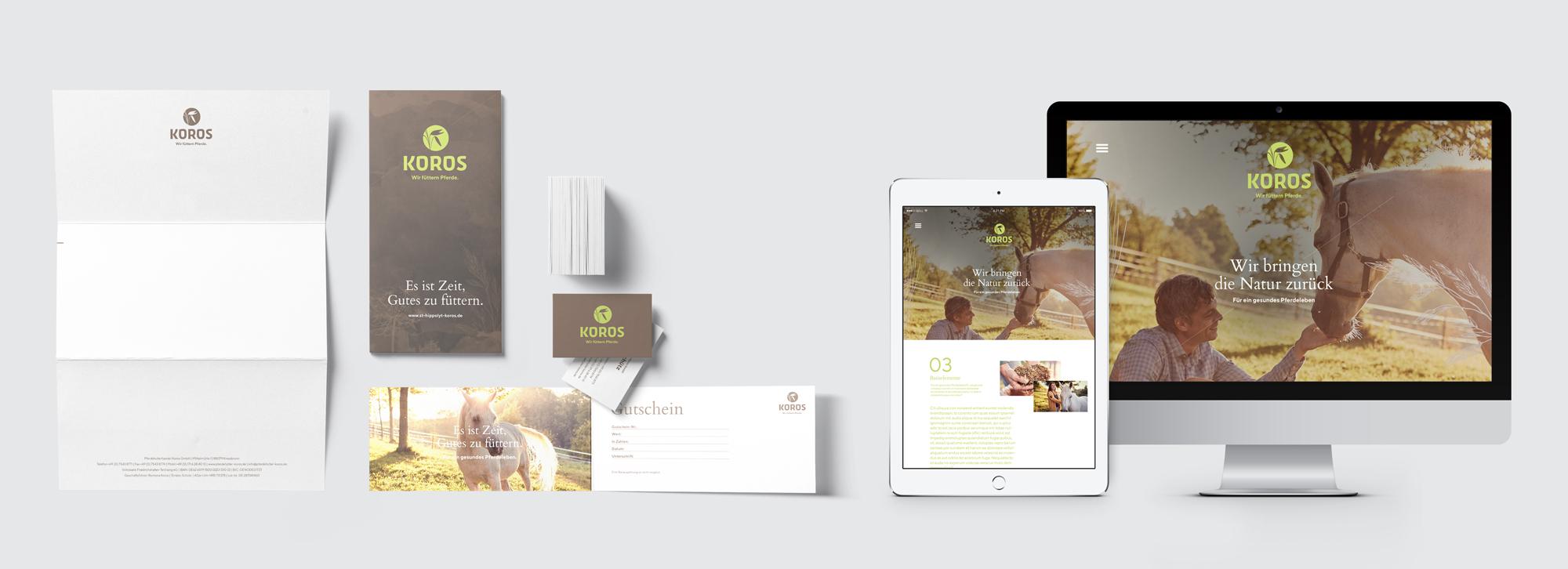 KOROS Corporate Design