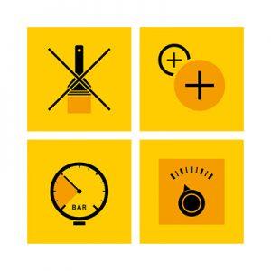 Piktogramme Grafikdesign Industrie3