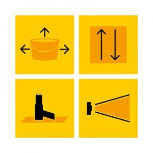 Piktogramme Grafikdesign Industrie6