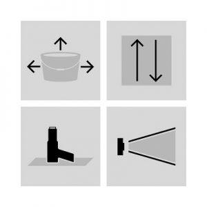 Piktogramme Grafikdesign Industrie61