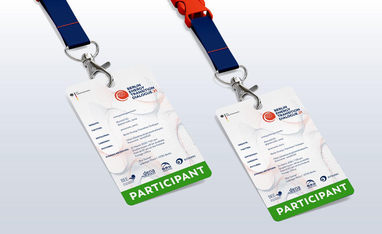 Buero Hinterland Berlin CorporateDesign badges