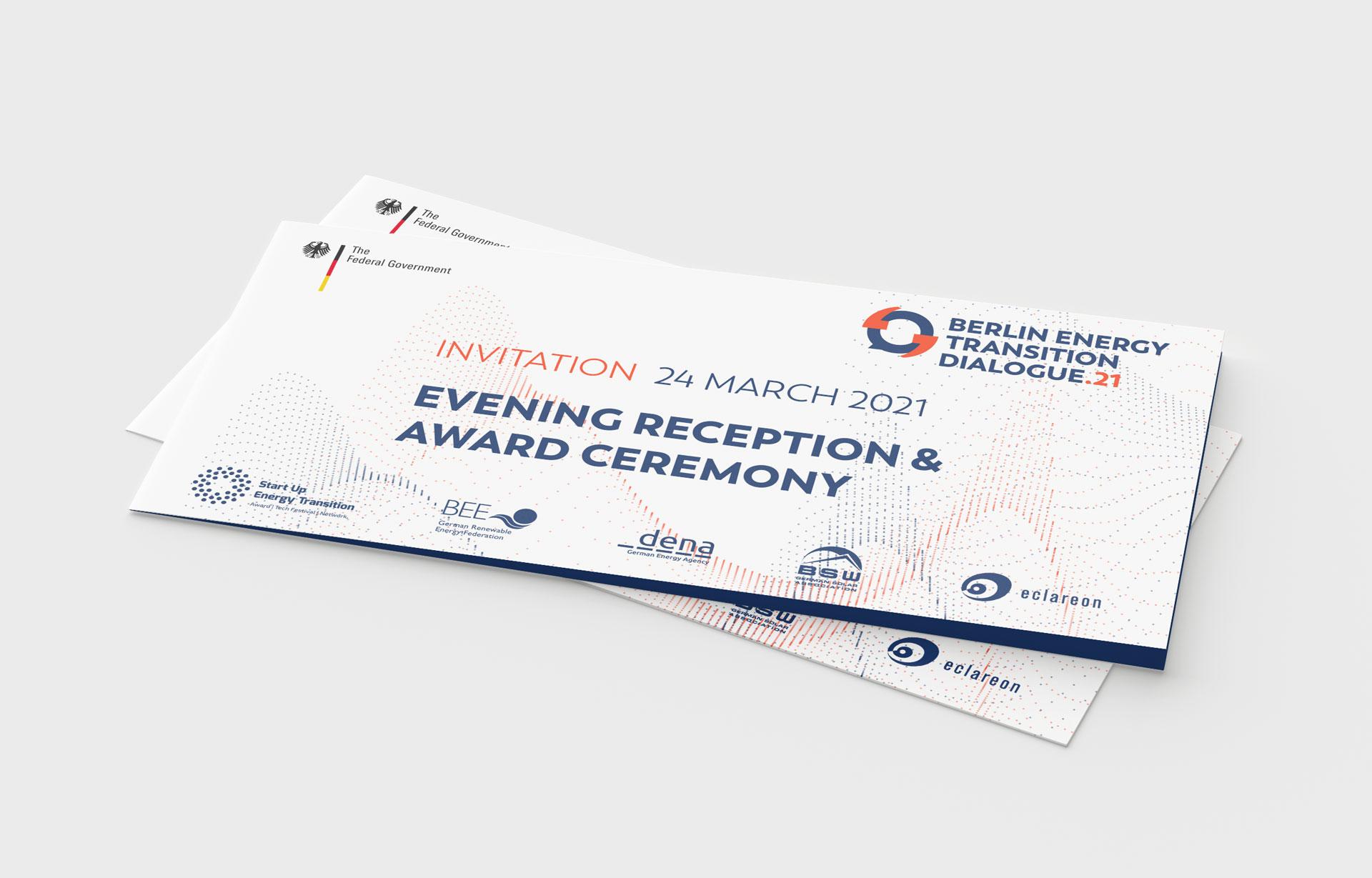 Buero Hinterland Berlin Einladungskarte InvitationCard