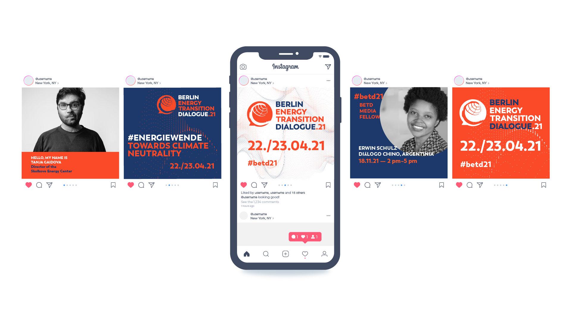 Buero Hinterland Berlin Eventbranding socialmedia