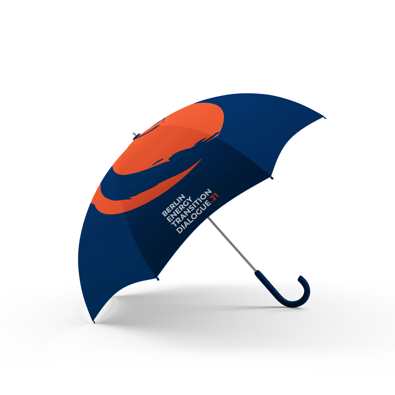 Buero Hinterland Berlin Eventbranding umbrella